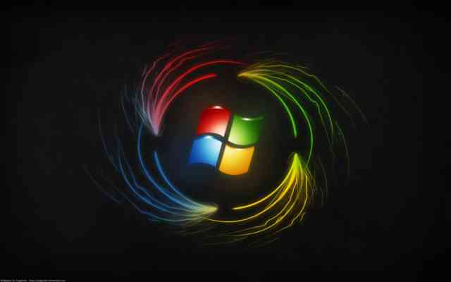 Best Black Windows 8 Free Wallpaper for Dekstop