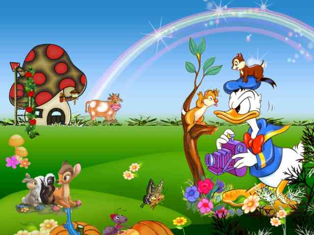 HD Donald Duck  Cartoon Wallpapers For Children - HD Wallpapers