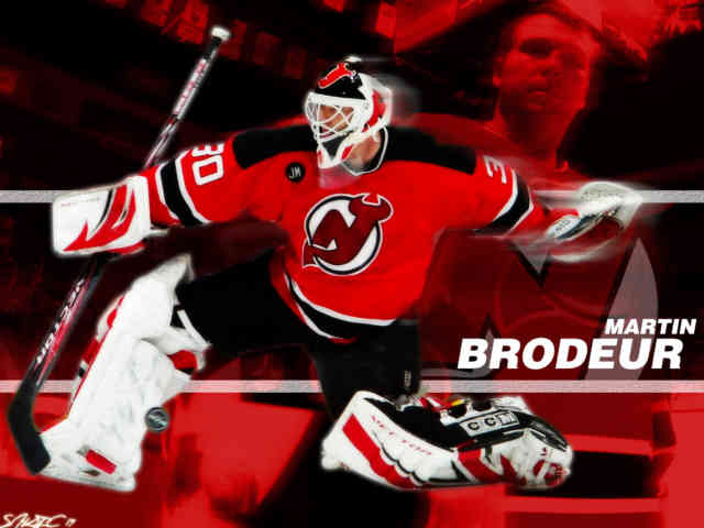 3D national hockey league NHL Wallpapers, Free wallpapers, Martin Brodeur