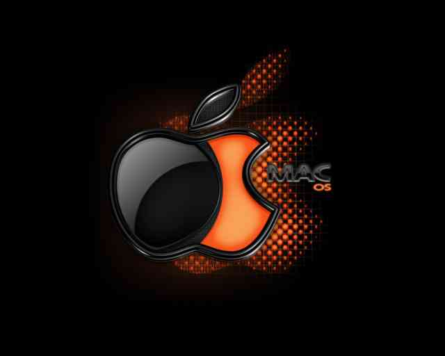 Apple, Free Wallpaper, Orange
