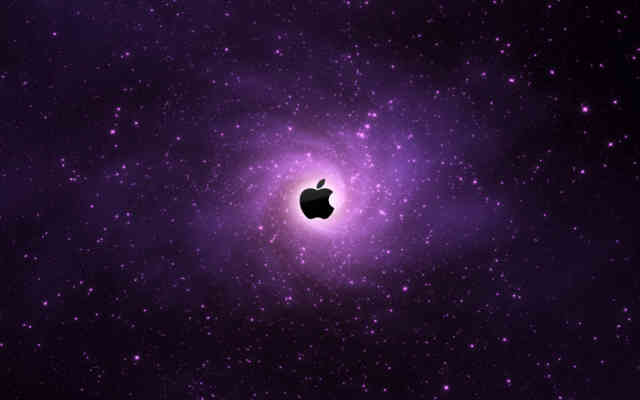 Apple Logo Space Wallpapers | HD Wallpapers