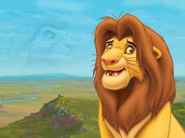 Cartoon Animated Wallpapers - bestscreenwallpaper.com - Simba, lion king