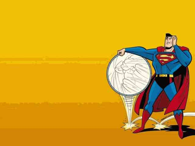 Cartoon Animated Wallpapers - bestscreenwallpaper.com - Superman wallpaper