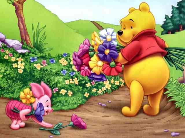 Cartoon Animated Wallpapers - bestscreenwallpaper.com - Teddy bear