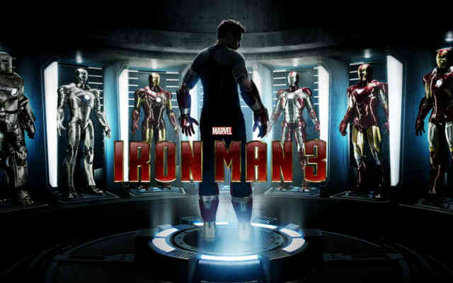Cool Iron Man 3 Movie HD Free Wallpapers