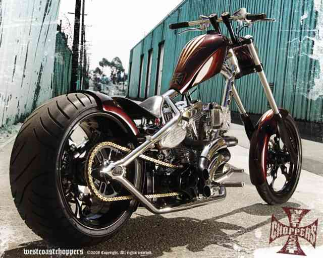 Free HD Choppers wallpapers,  West Cost Choppers theme bikes, Cavallera Choppers