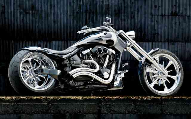 Free Motorcycle Free Wallpapers, bestscreenwallpaper.com, Yamaha Chopper Chrome