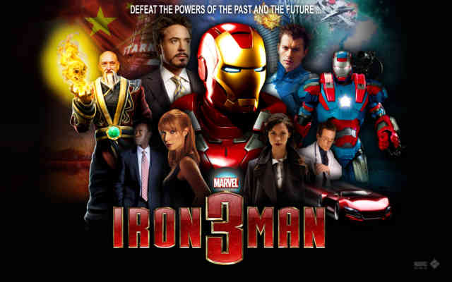 Gang Iron Man 3 Wallpaper