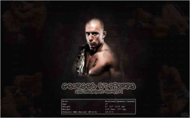 Georges St Pierre Wallpaper | GSP | UFC | bestscreenwallpaper.com | #10