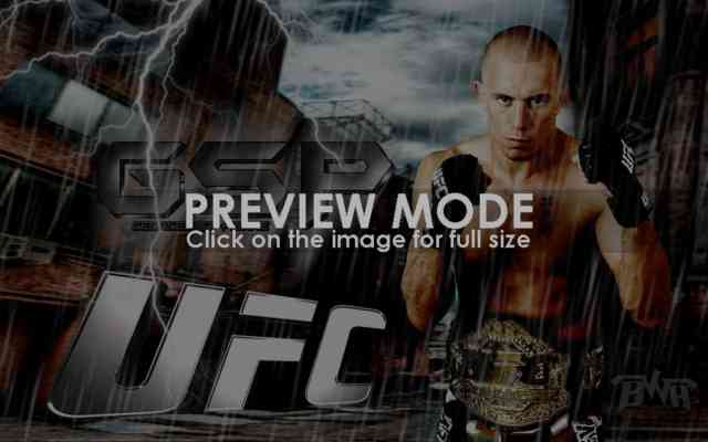 Georges St Pierre Wallpaper | GSP | UFC | bestscreenwallpaper.com | #4