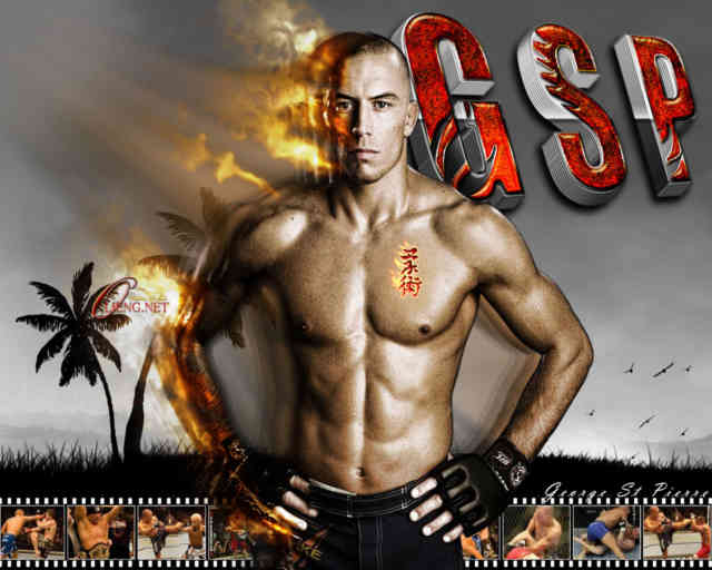Georges St Pierre Wallpaper | GSP | UFC | bestscreenwallpaper.com | #6