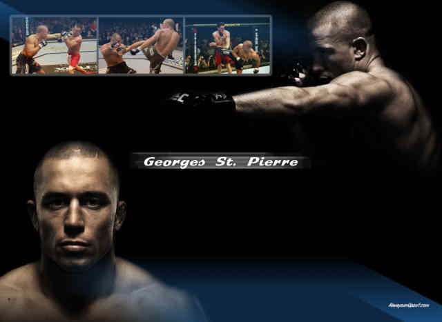 Georges St Pierre Wallpaper | GSP | UFC | bestscreenwallpaper.com | #9