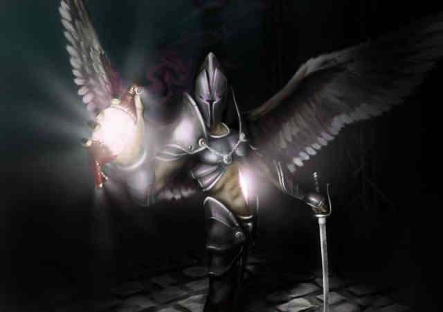 Gothic computer wallpaper | Gothic  Desktop Background-3D Dark Angels wallpaper