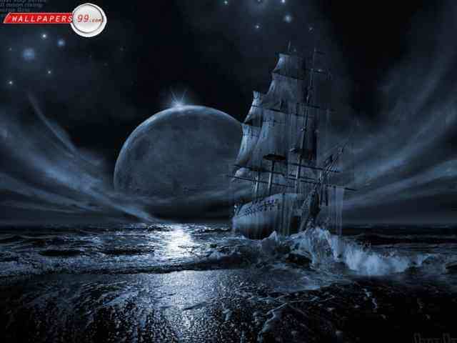 Gothic computer wallpaper , bestscreenwallpaper.com , 3D, HD, Boat