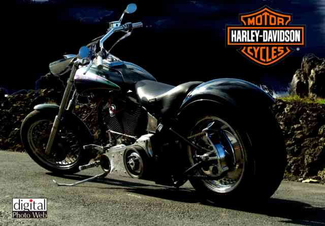 HD Harley Davidson Free Wallpaper: bestscreenwallpaper.com - Collection