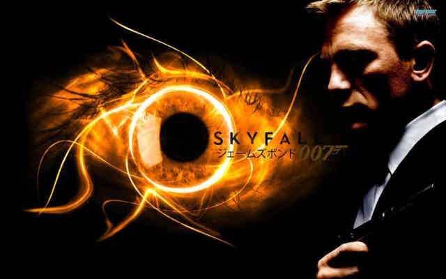 Hot James Bond - Skyfall wallpaper - Movie wallpapers