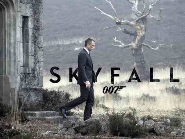 Larger HD Wallpapers for iPhone 5 - James Bond 007 Skyfall Wallpapers