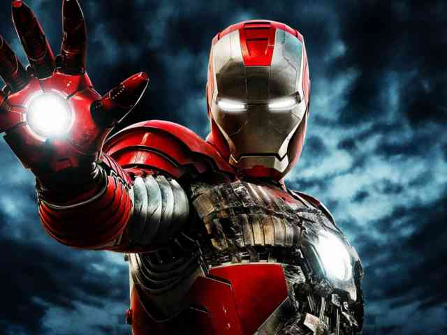 Power of Iron Man 3 Free Wallpapers