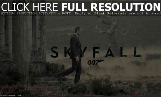 Skyfall 007 Wallpaper 2013