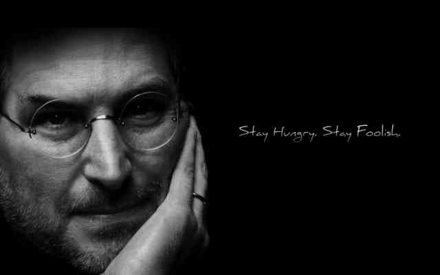 Steve Jobs Wide Full HD Wallpaper