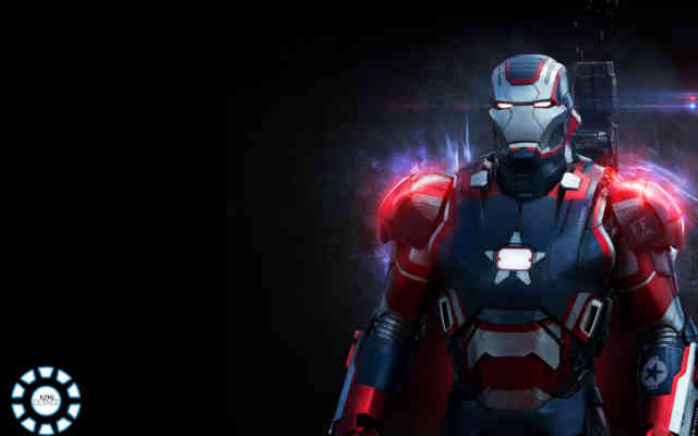 USA Iron Man 3 for Desktop Wallpaper HD