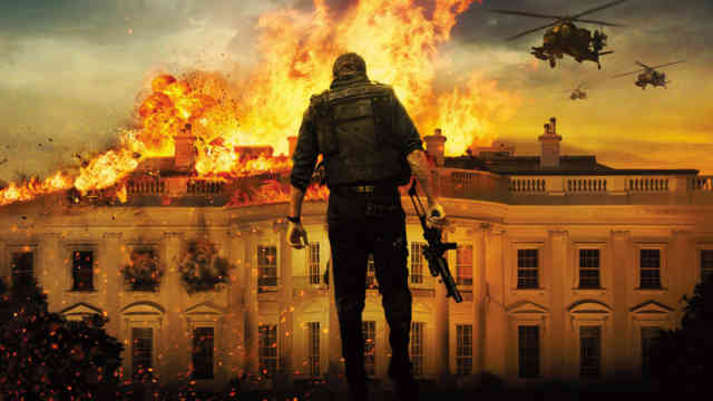 White House Down HD Wallpaper Movie, bestscreenwallpaper.com, Fire place