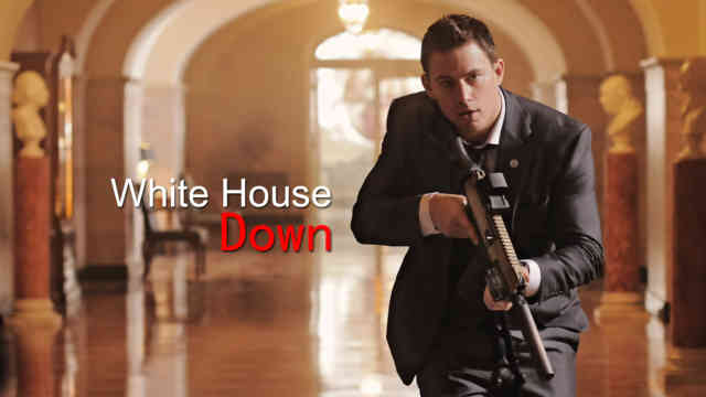 White House Down HD Wallpaper Movie, bestscreenwallpaper.com, GUN