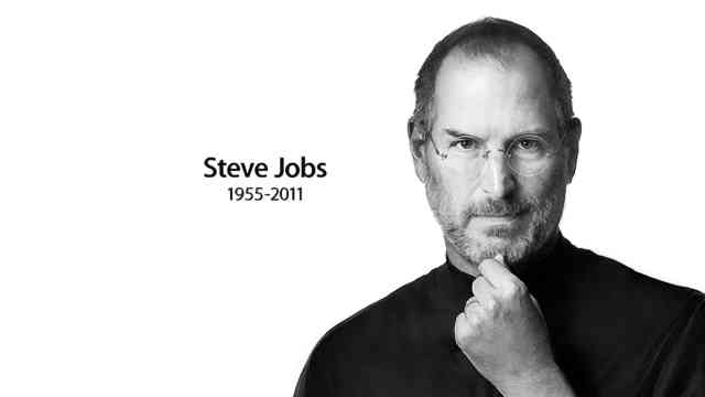 White picture Wallpapers Steve Jobs