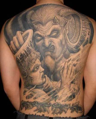 Tattoo - Tattoo designs - Hot tattoo - cool tattoo - images tattoo - demon tattoo -  #1