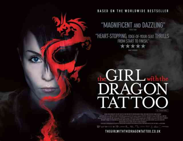 the girl with the dragon tattoo - tattoos - tattoo - the-girl-with-the-dragon-tattoo - #14