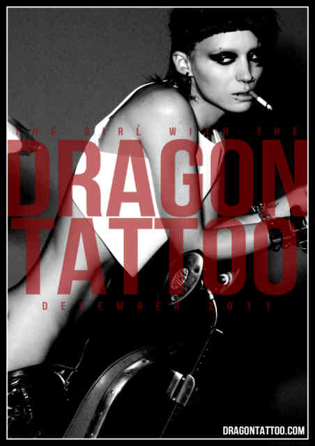 the girl with the dragon tattoo - tattoos - tattoo - the-girl-with-the-dragon-tattoo - #2