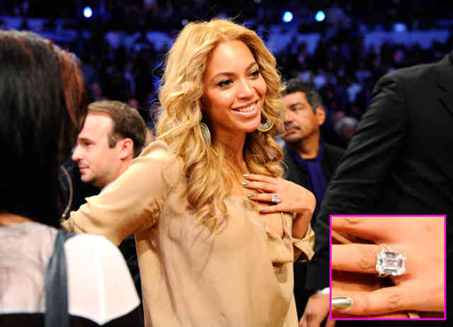Beyonce wedding ring - #16
