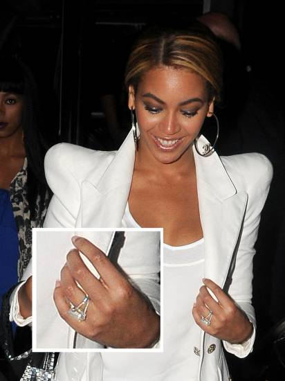 Beyonce wedding ring - #23