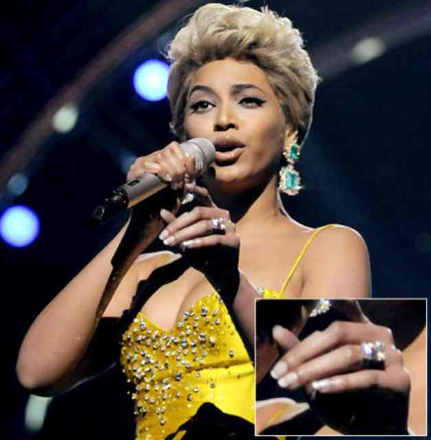 Beyonce wedding ring - #25
