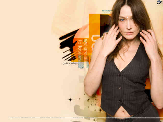 Carla Bruni Nicolas Sarkozy wallpaper | Carla Bruni | Wallpapers | #19