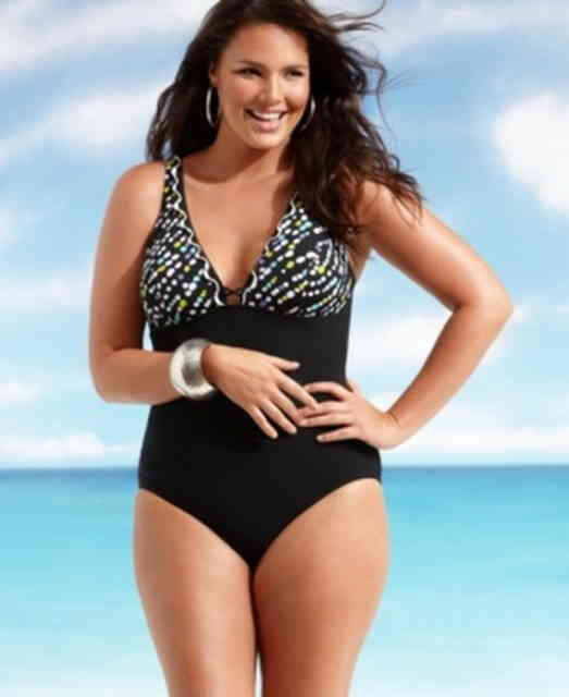 plus size swimwear - #3