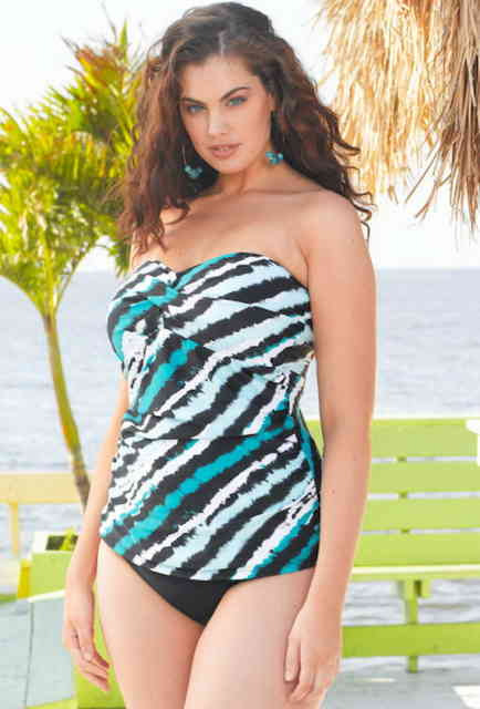 plus size swimwear - #4