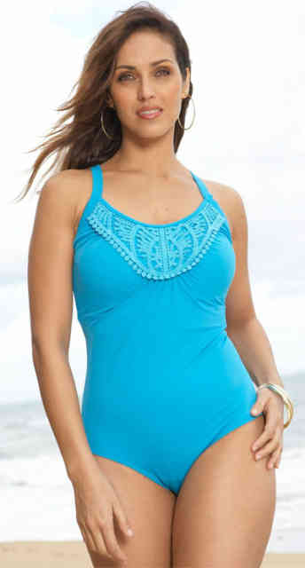 plus size swimwear - swimsuits plus size -  #1