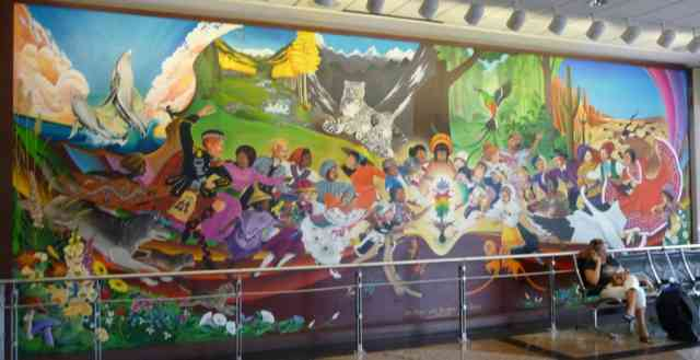 Denver airport murals | Denver colorado | Denver airport | Denver colorado | Denver | #11