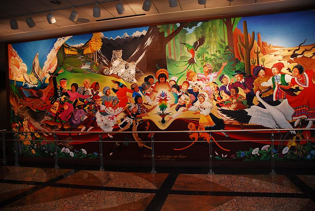 Denver airport murals | Denver colorado | Denver airport | Denver colorado | Denver | #12
