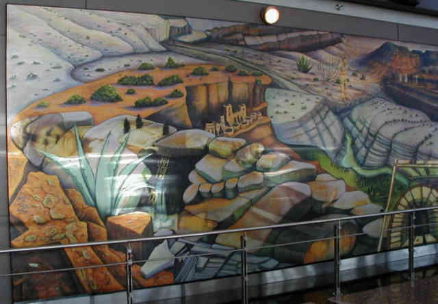 Denver airport murals | Denver colorado | Denver airport | Denver colorado | Denver | #25