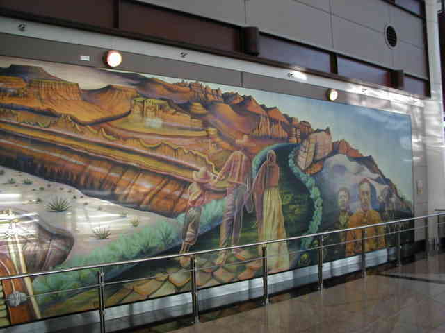 Denver airport murals | Denver colorado | Denver airport | Denver colorado | Denver | #27
