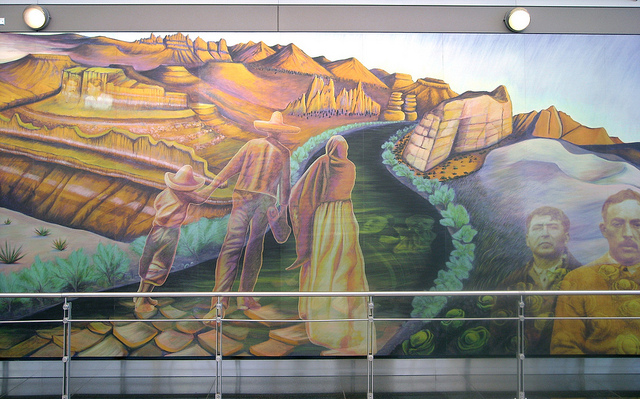 Denver airport murals | Denver colorado | Denver airport | Denver colorado | Denver | #36