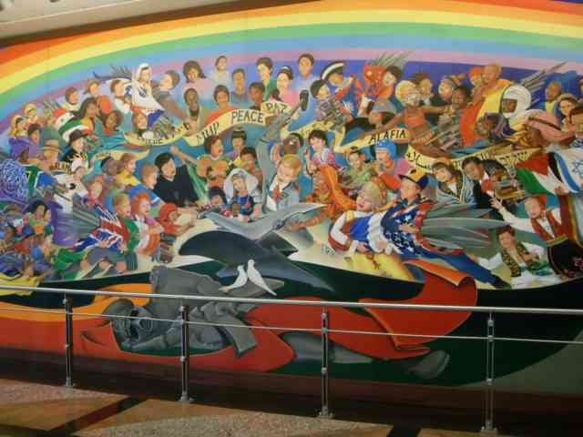 Denver airport murals | Denver colorado | Denver airport | Denver colorado | Denver | #4