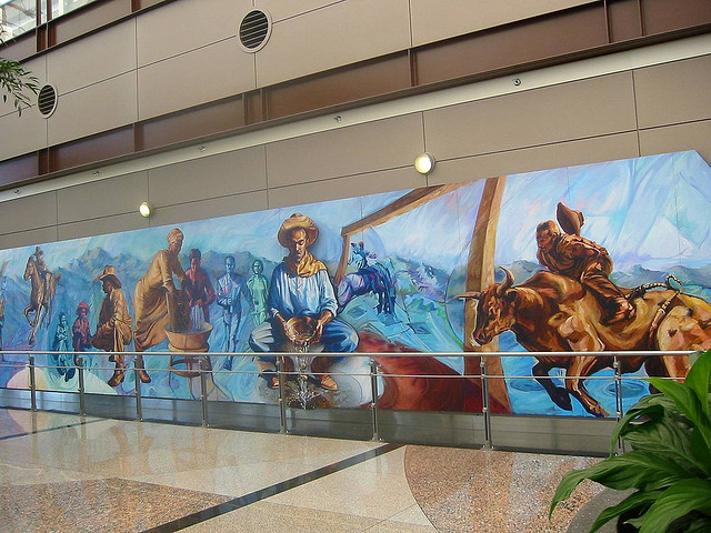 Denver airport murals | Denver colorado | Denver airport | Denver colorado | Denver | #42