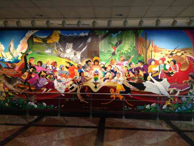 Denver airport murals | Denver colorado | Denver airport | Denver colorado | Denver | #45