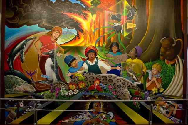 Denver airport murals | Denver colorado | Denver airport | Denver colorado | Denver | #46
