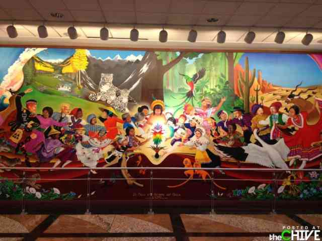 Denver airport murals | Denver colorado | Denver airport | Denver colorado | Denver | #57