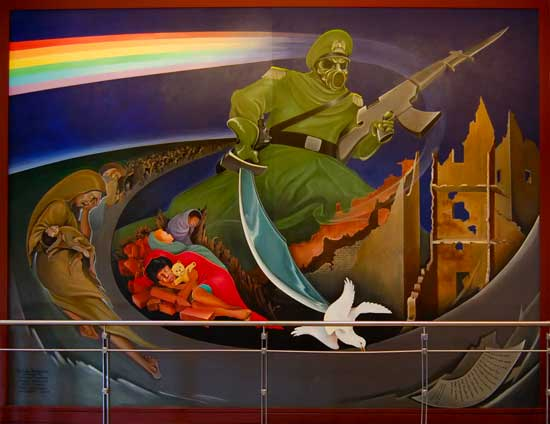 Denver airport murals | Denver colorado | Denver airport | Denver colorado | Denver | #59