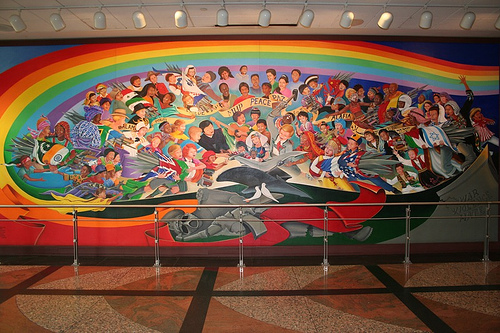 Denver airport murals | Denver colorado | Denver airport | Denver colorado | Denver | #6
